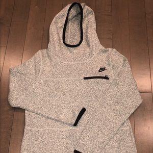 Grey Heather Nike Tech Fleece